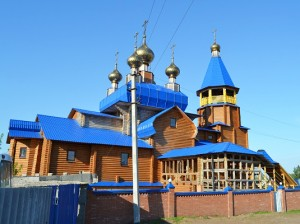 Храм в честь Сретения Господня, село Борское